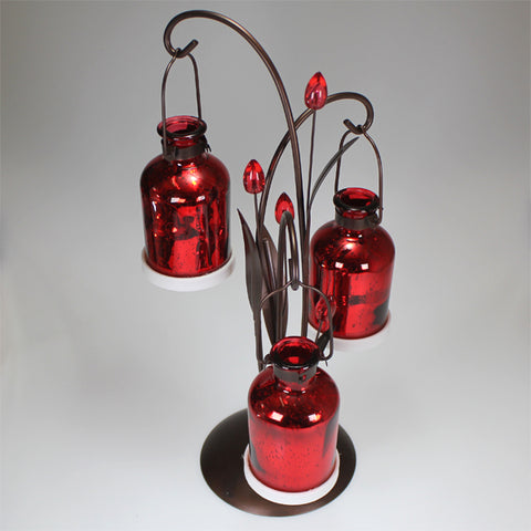 Red LED Holiday Light (Triple)