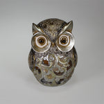 Owl with LED Lights Decor (11cm)