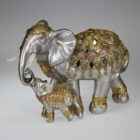 Elephant and Baby Decor