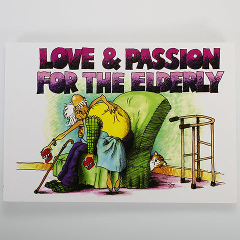 'Love and Passion for the Elderly' Cartoon Book
