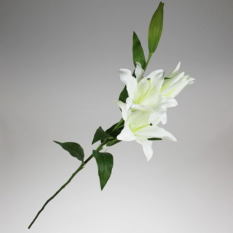 Artificial Flowers - Casablanca Lily - White