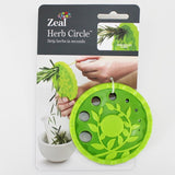Herb Circle to Prepare Herbs for Cookery