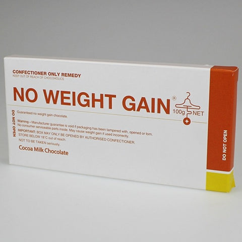Bloomsberry & Co 'No Weight Gain' Milk Chocolate Bar