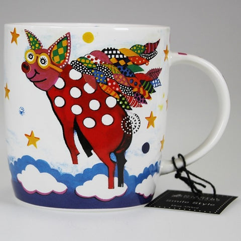 Maxwell & Williams - Smile Style Mug - Pigasus Pig