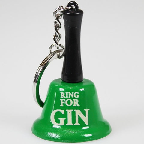 Bell on Keychain - Ring For Gin