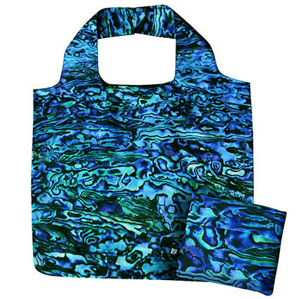 Reusable Folding Bag - Paua