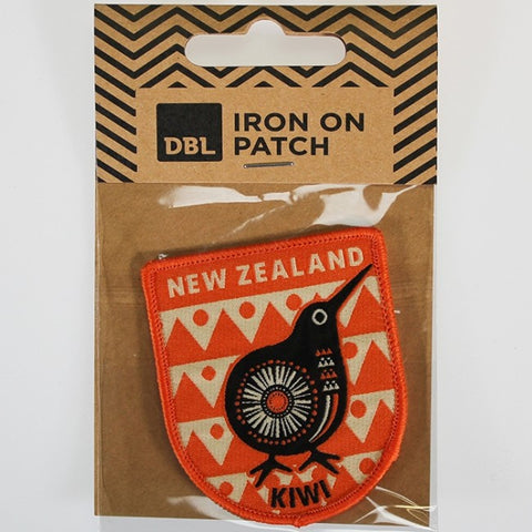 Iron-on Patch - Retro Kiwi