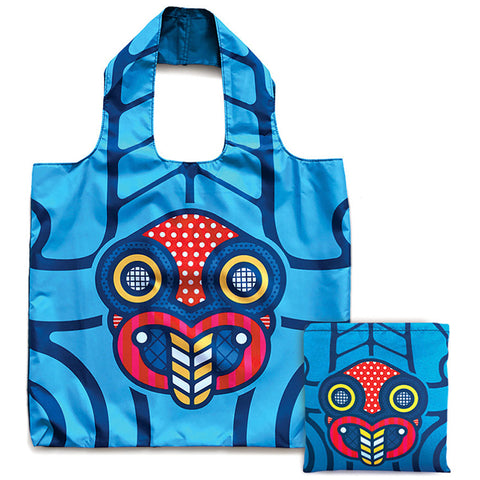 Reusable Folding Bag - Pop Tiki