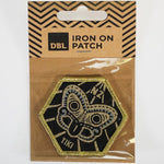 Iron-on Patch - Tiki Gold