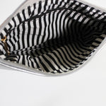 Moana Road 'Viaduct' Clutch Bag - Silver - Smooth Texture