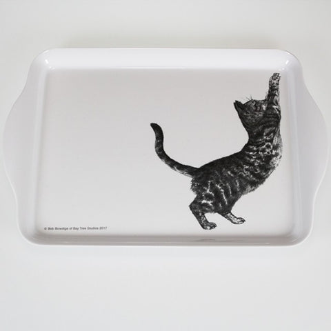 Casual Cats - Cat Scratching - Scatter Tray