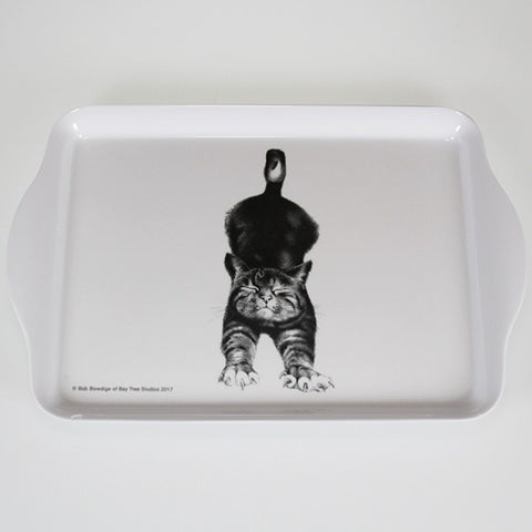 Casual Cats - Cat Stretching - Scatter Tray