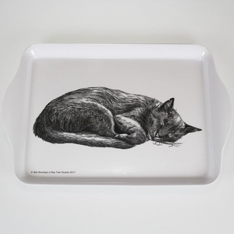 Casual Cats - Cat Sleeping - Scatter Tray