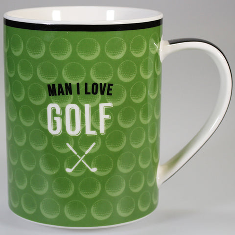 """Man I Love Golf"" - Boxed Mug"