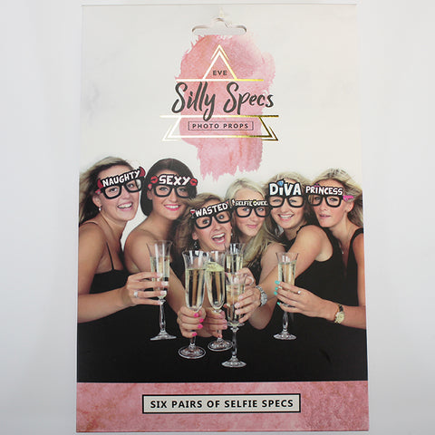 Silly Specs - Party Photo Props