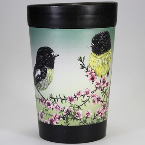 Miromiro and Manuka - Reusable Coffee Cup