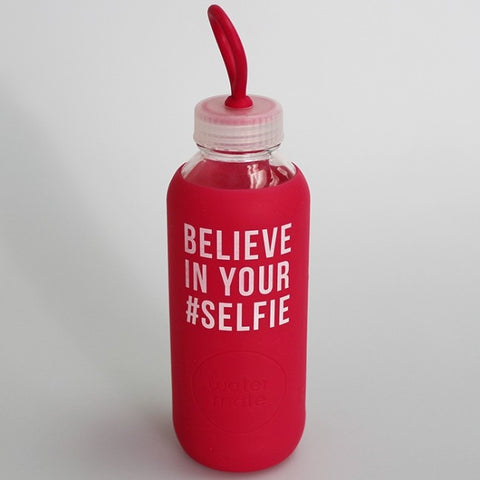 Water Mate Bottle - 'Believe in Your #Selfie' - 550ml