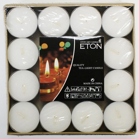 7.5 Hour Tealight Candle - 16 Pack