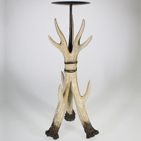 Tall Antler Candle Stand - Single