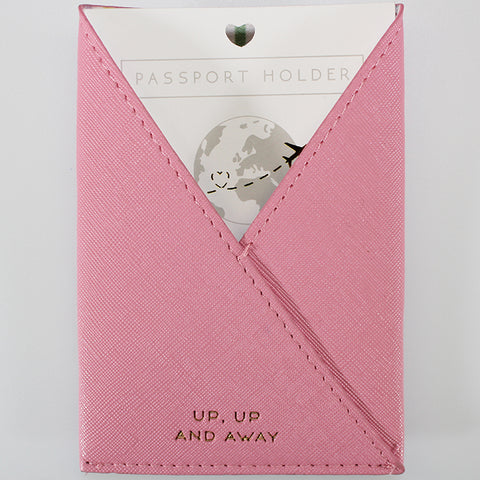 Passport Holder Sleeve - Pink - Willow & Rose