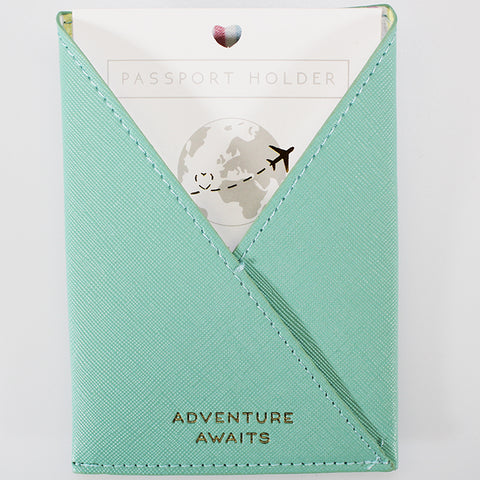 Passport Holder Sleeve - Mint - Willow & Rose