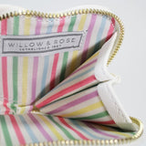 "Willow & Rose - Zippy Heart Coin Purse - ""Money for Cocktails"" Mint Green"