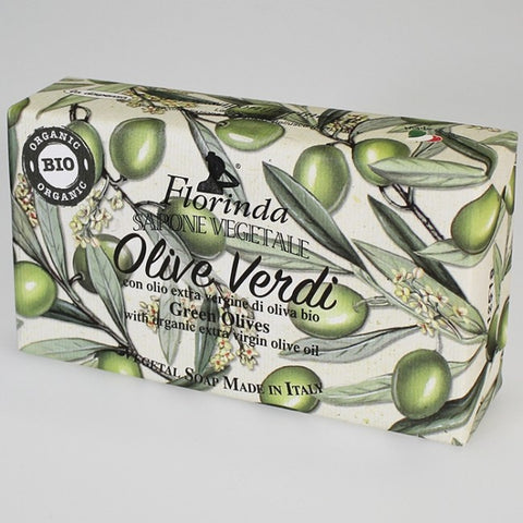 Florinda Italian-made Soap - Green Olive - Large