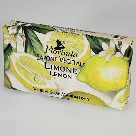 Florinda Italian-made Soap - Lemon - Medium