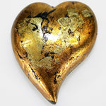 Gold Mottle Heart - Small
