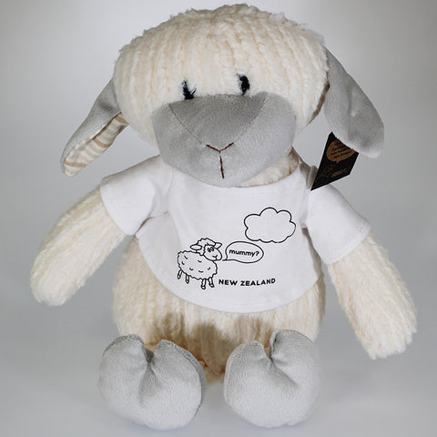 Large Sheep Soft Toy in T-Shirt