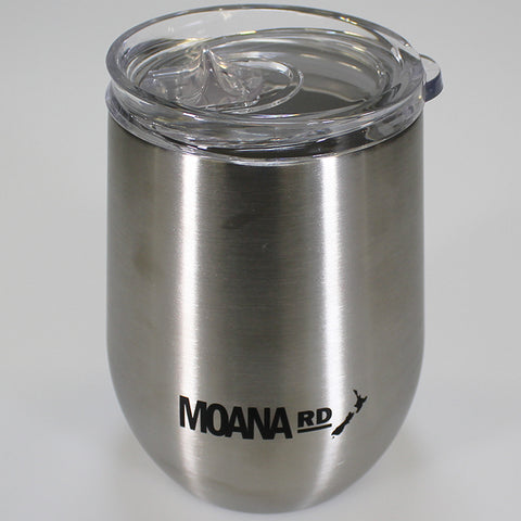 Moana Road - Brushed Stainless Keep Cup