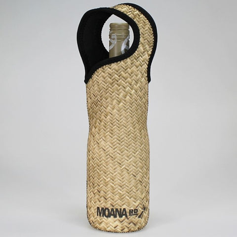 Moana Road - Flax Print Neoprene Wine Bottle Carrier
