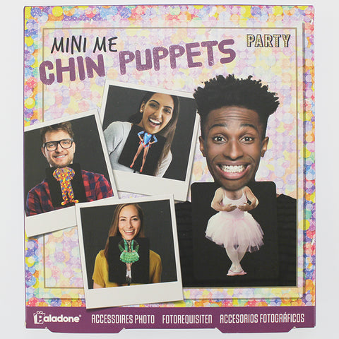 'Mini Me' Party Chin Puppet Cards