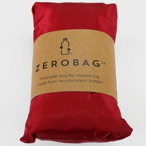 Zero Bag - Reusable Folding Bag - Red Red Wine