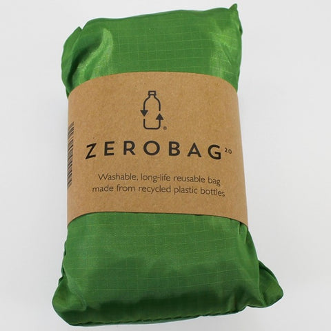 Zero Bag - Reusable Folding Bag - Green Day