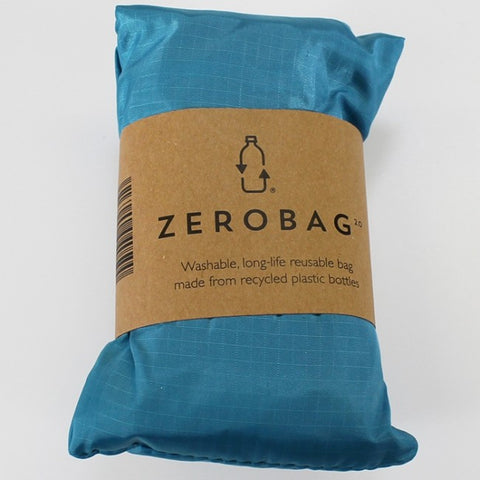 Zero Bag - Reusable Folding Bag - Electric Blue