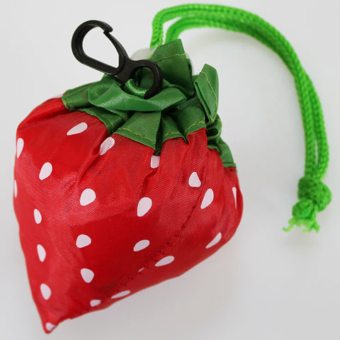 Strawberry - Reusable Folding Bag