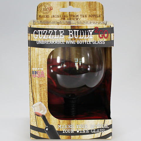 Guzzle Buddy - Wine Bottle Wine Glass
