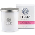 Tilley Soy Scented Candle - Pink Grapefruit
