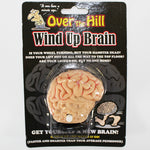 'Over the Hill' Wind-up Walking Brain