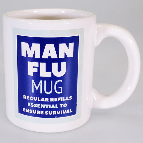 Boxed Mug - 'Man Flu Mug'