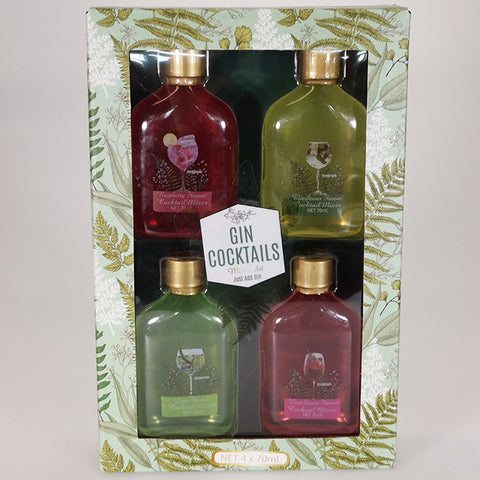 Gin Cocktail Mixer Gift Set
