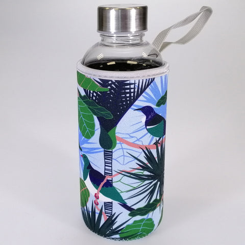 "Water Bottle with Insulation Cover - ""Bird Song"" - 600mL"