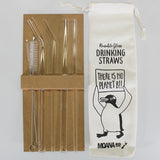 Moana Road - Reusable Glass Drinking Straws