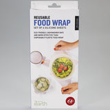 Reusable Silicone Food Covers - Set of 4