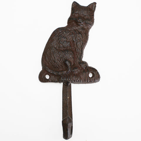 Cast Iron Cat Hook