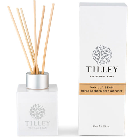 Tilley Reed Diffuser - Vanilla Bean - 75ml