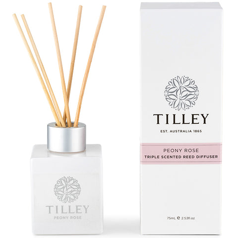 Tilley Reed Diffuser - Peony Rose - 75ml