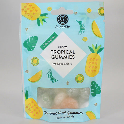 Fizzy Tropical Gummies 80g