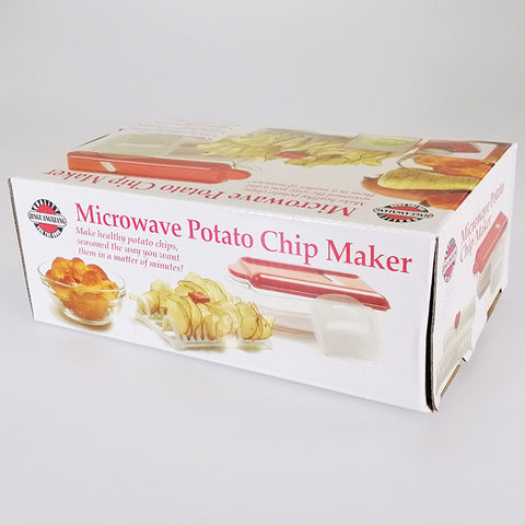 Microwave Chip Maker with Slicer